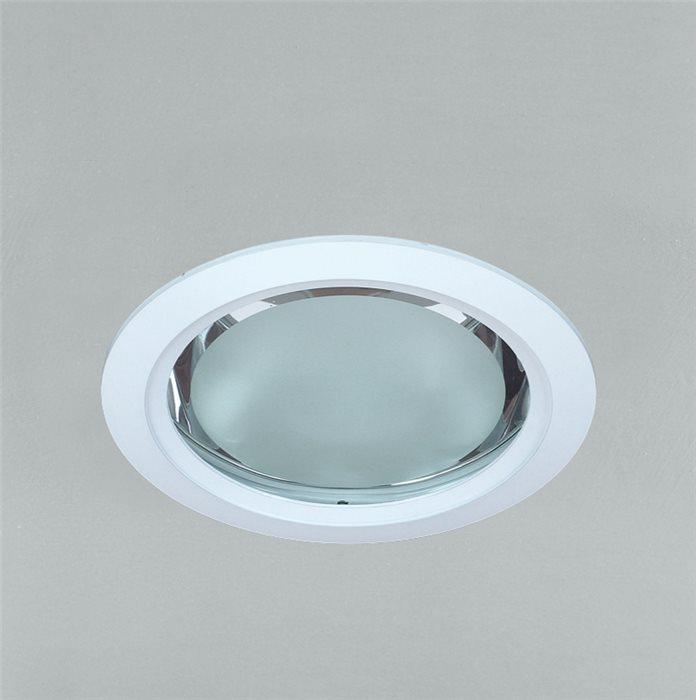Lampenlux LED-Einbaustrahler Spot Efendi rund weiß IP40 inkl Vorschaltgerät + Leuchtmittel