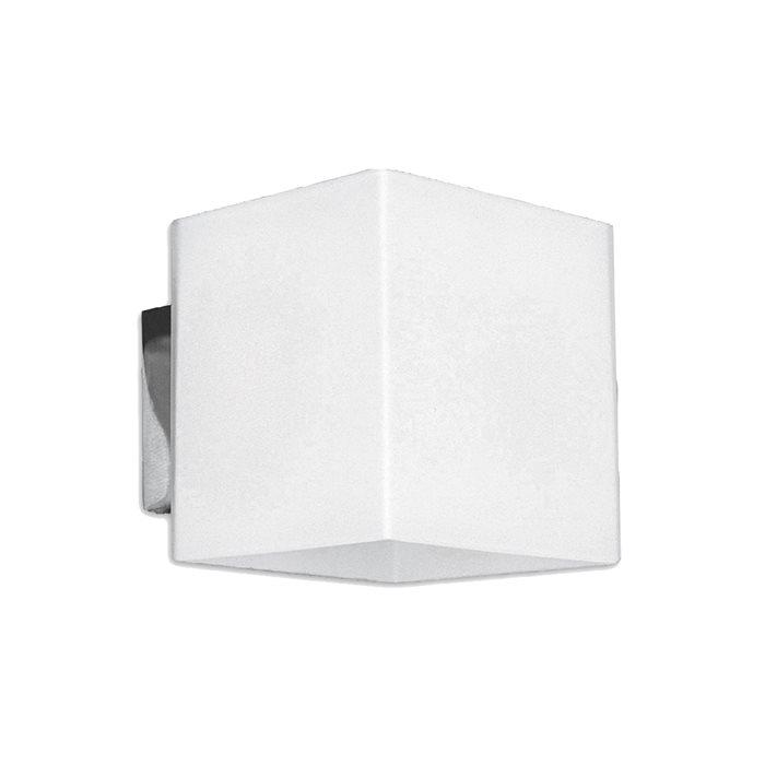 Lampenlux LED Up/Down Wand Lampe Leuchte Raven 12cm Mittel Effekt Weiß Light Bad Spiegel