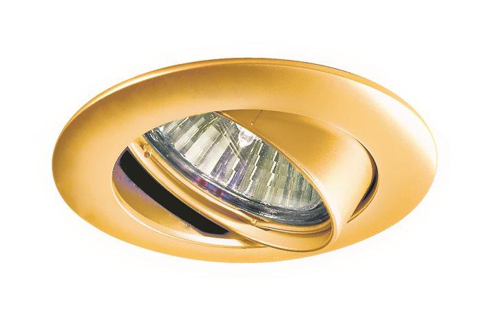 Lampenlux LED-Einbaustrahler Spot SIENA schwenkbar rund 8.3x8.3cm rostfrei Aluminium