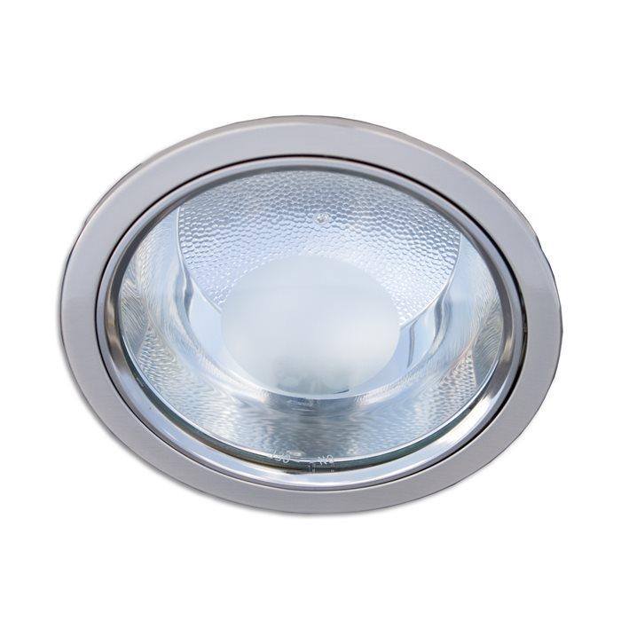 Lampenlux LED Einbaustrahler Frida IP44 Aussenleuchten Rund 10W 230V Ø14cm Warmweiß Kaltweiß Aluminium
