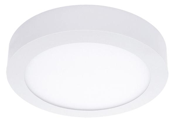 Lampenlux Ultraslim LED Panel Ramino Höhe:3,5cm Ø12-60cm Deckenlampe Deckenleuchte Weiß Rund