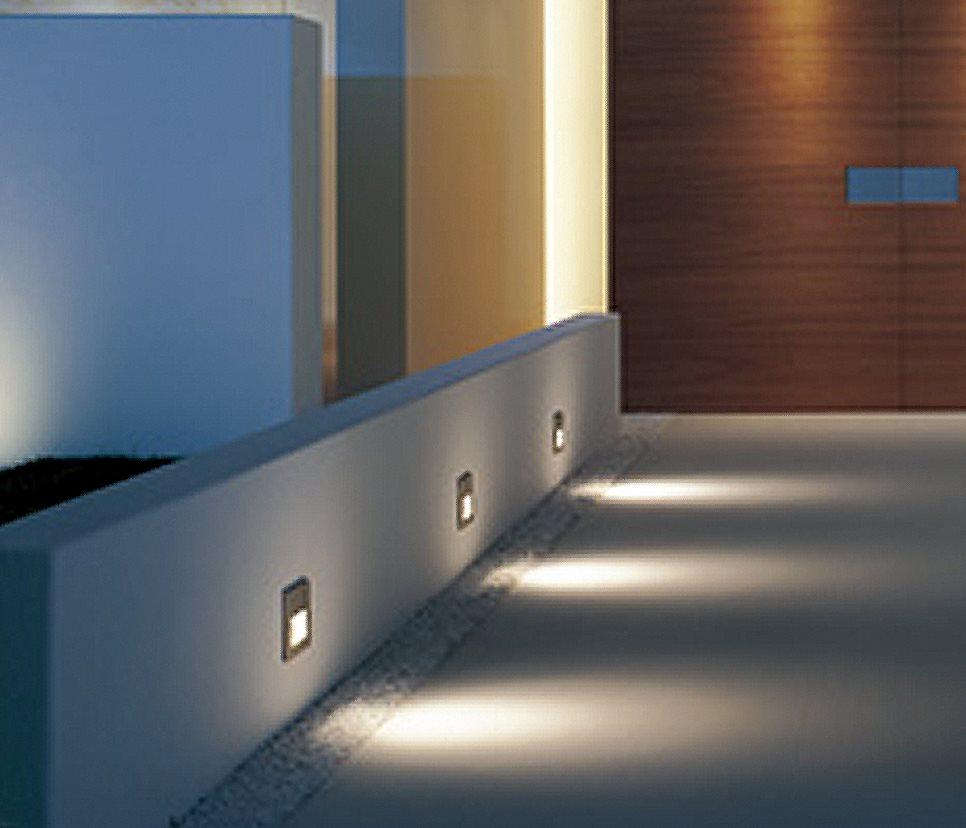 Bekannt Lampenlux LED Einbaustrahler Aussenleuchte Taimy IP65 230V Spot AJ29