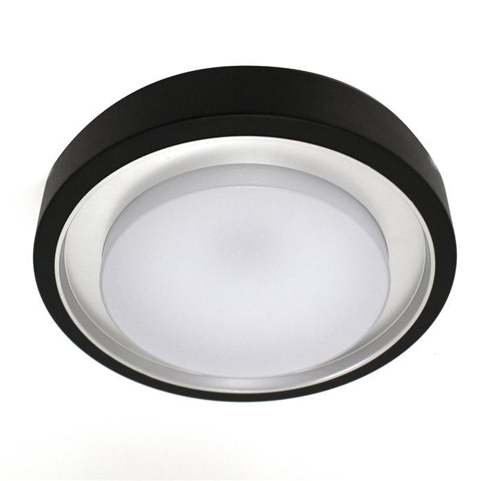 Super Lampenlux LED Aussenleuchte Diaz Sensor Schwarz Bewegungsmelder JP64